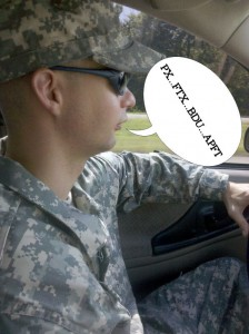 New Army Wife Boot Camp Survival Using Army Acronyms