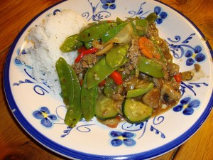 Stir-Fry with a Delicious Homemade Sauce