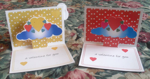 Pop Up Cards Finished