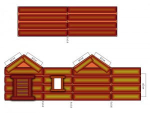 Wee Log Cabins