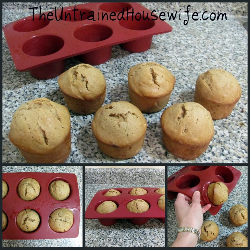 Silicone muffin form