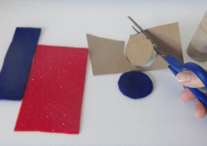 Cutting Felt Pieces
