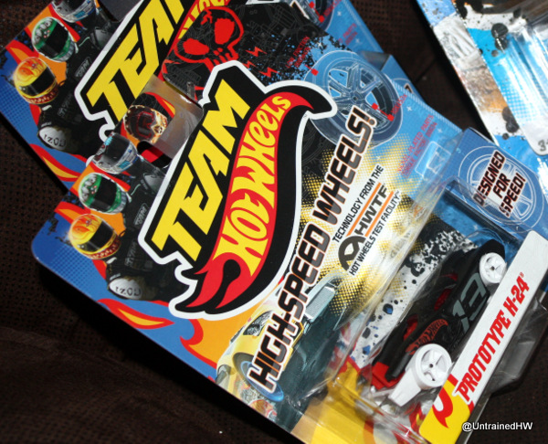 Hot Wheel cars in packages