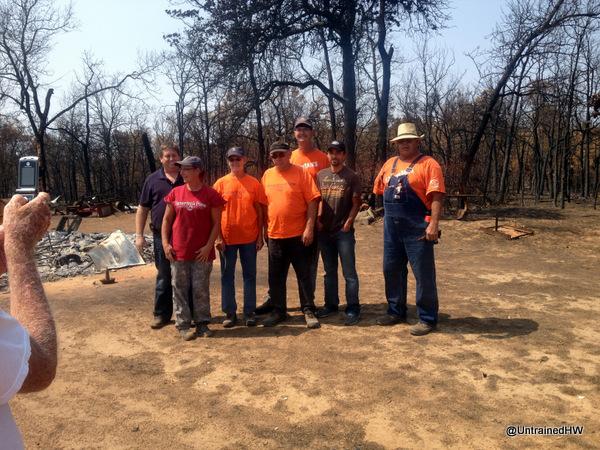 photos of the volunteer team