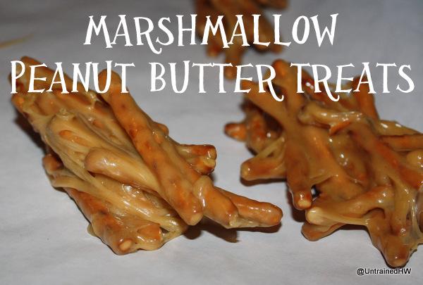 marshmallow peanut butter treats