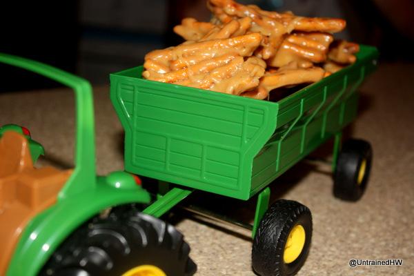 tractor birthday party treats