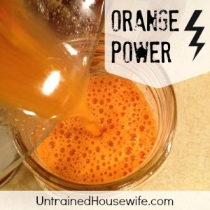 Orange Juice Healthy   on Orange Power  Juice Recipe For Healthy Eyes