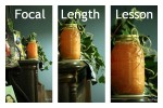 Focal Length Lesson Collage