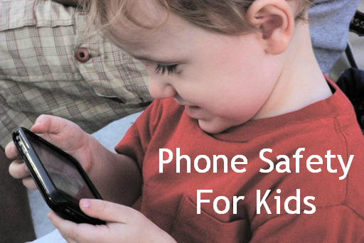 teaching your kids to be safe with cellphones