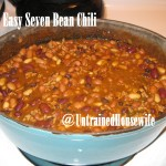 Super Easy Seven Bean Chili