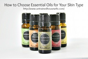 Essential Oils for Different Skin Types