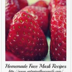 Recipes for Natural Face Masks
