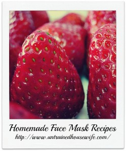 Easy Homemade Face Mask Recipes