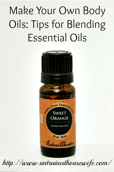 Tips for Blending Essential Oils for Homemade Body Oils