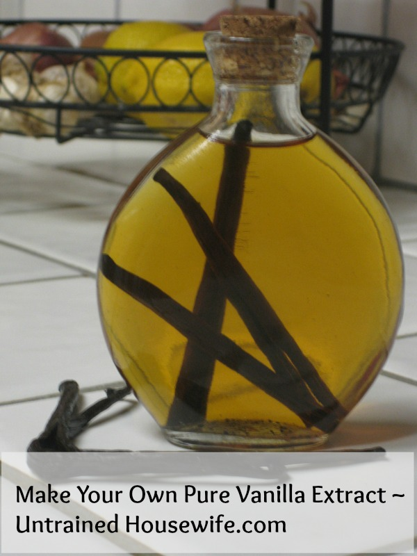 Vanilla Extract from The Untrained Housewife
