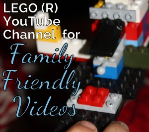 LEGO YouTube Channel for Kid Friendly Entertainment
