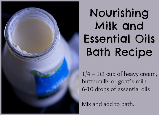 Nourishing Milk Bath Recipe