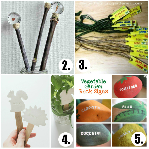 Garden Stake Markers You Can Make at Home