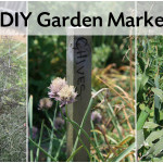 Rustic Garden Markers are Easy to Make