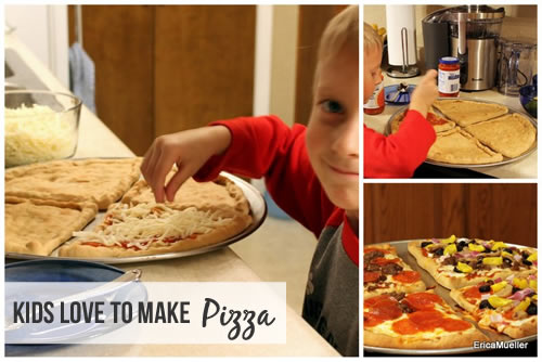 Kids Love to Make Pizza