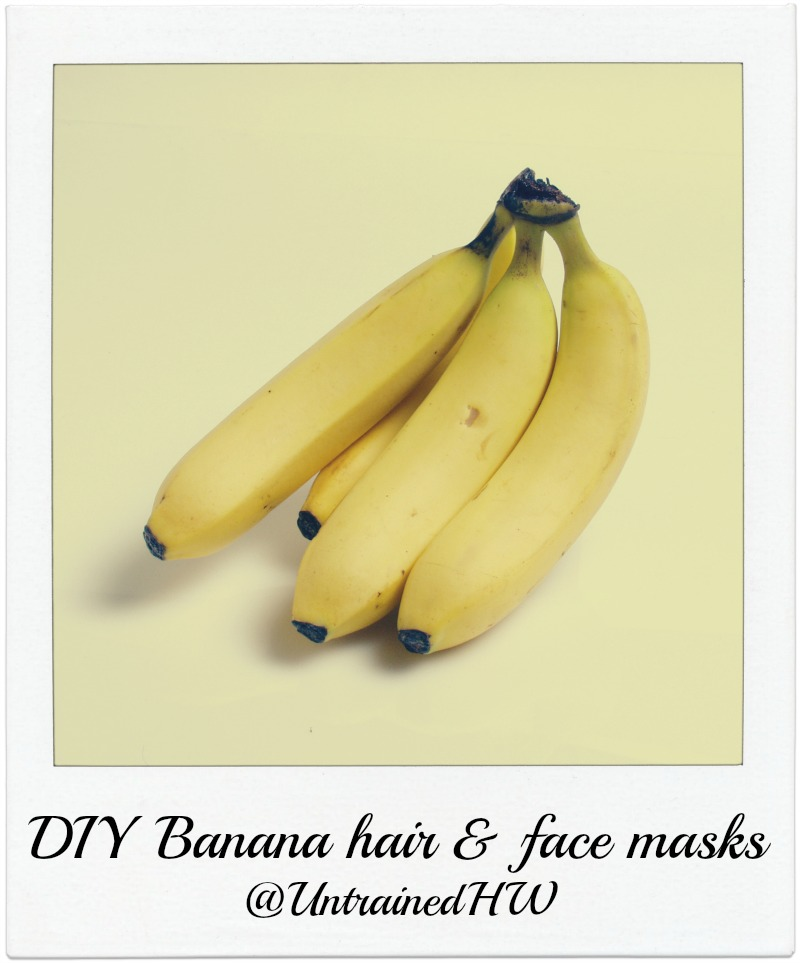 Homemade Banana Face and Hair Masks