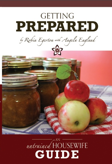 Getting Prepared Book - An Untrained Housewife Guide