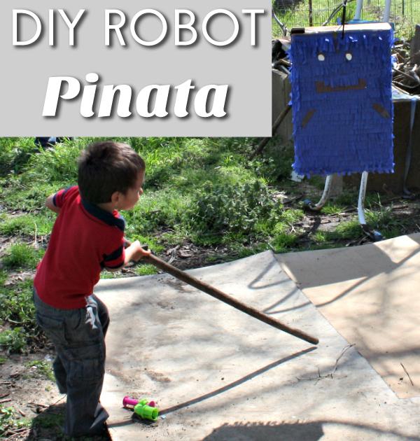 Robot Pinata DIY