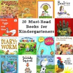 20 Must-Read Books for Kindergarteners