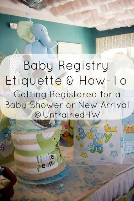 baby registry etiquette how to getting registered for a baby shower