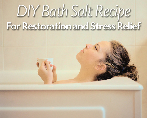 Bath Salts DIY for Homemade Relaxing Baths