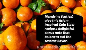 juicy mandarines