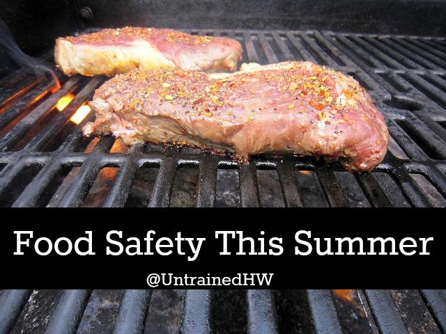 Food Safe Grilling