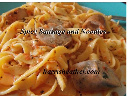 Spicy Herbed Sausage Pasta