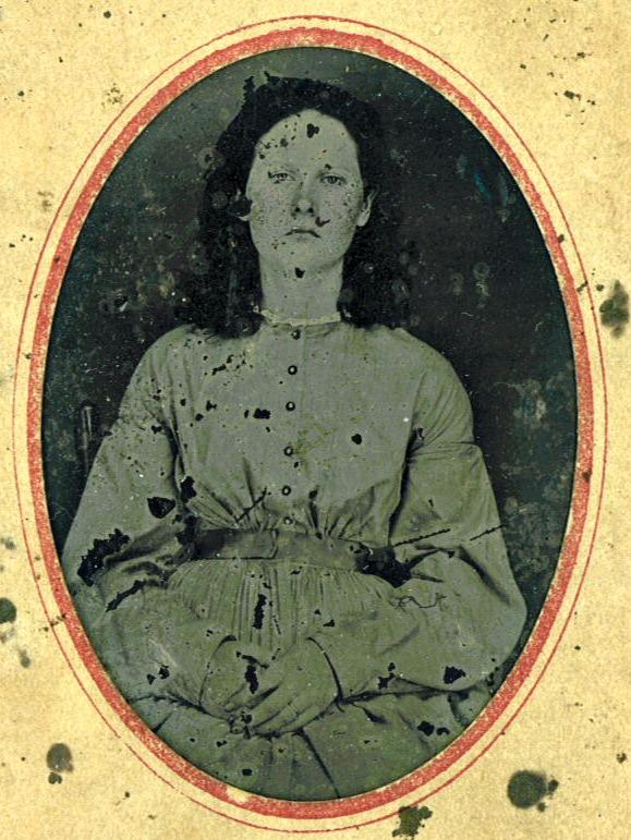 """Amelia """"Melee"""" Crow c.1860s"""