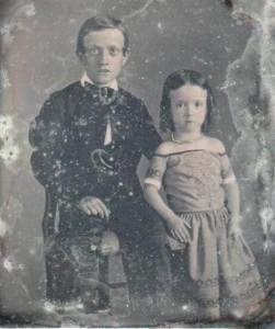 Daguerreotype of Children c. 1850s-1860s