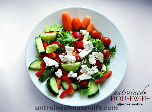 Summer Basil and Tomato Fresh Salad Recipe