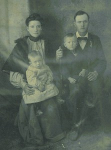 Family Group.  Gelatin Silver Print.  c. 1890s