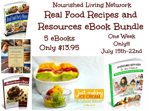 Real Food Recipes and Resources eBook Bundle