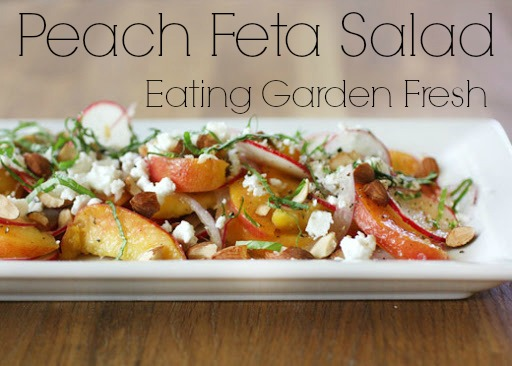 Peach Feta Summer Salad Recipe