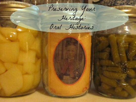 Preserving Your Heritage