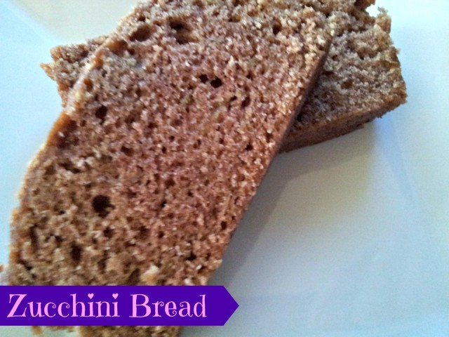 Delicious Zucchini Bread for Garden Fresh Produce