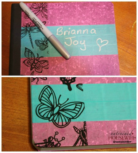 Finished Girls Notebook Scotch Expressions
