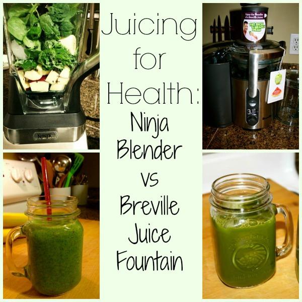 Juicing For Health Guide: Ninja Blender vs Breville Juice Fountain