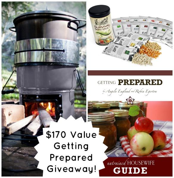 Getting Prepared Giveaway September Challenge $170 Value!