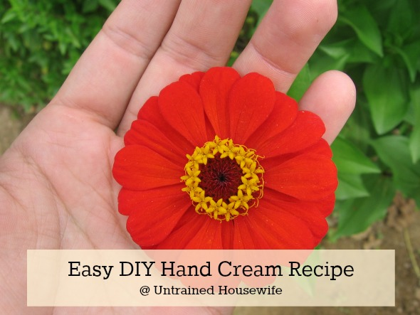 Homemade Hand Cream