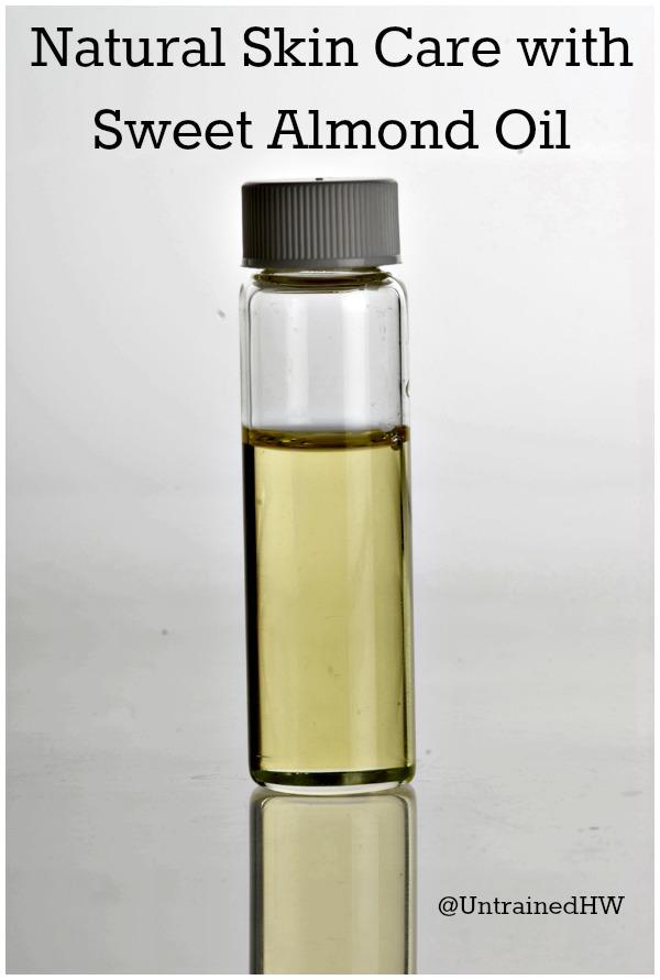 A Bottle of Sweet Almond Oil (Prunus Dulcis)