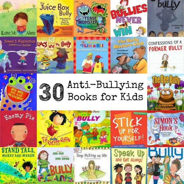 30 Anti-Bullying Books for Kids