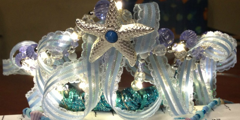 Ocean Fairy Crown or Tiara DIY Tutorial
