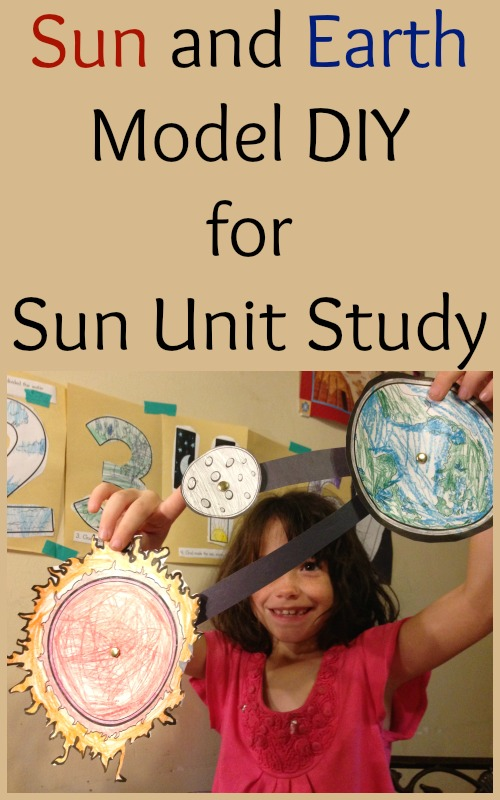 Sun and Earth Model DIY for Sun Unit Study