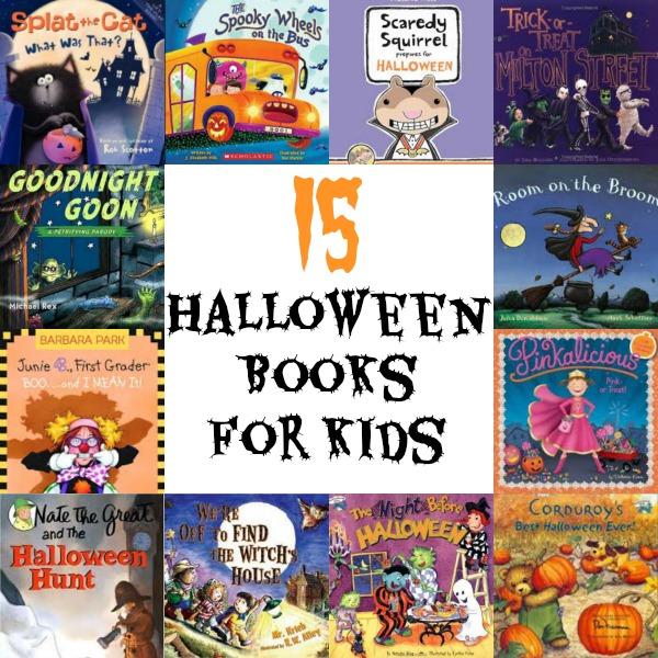 15 Halloween Books for Kids